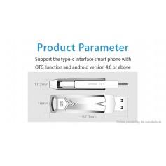 DM PD098 Portable USB 3.0/USB-C Flash Drive (64GB)