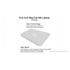 "YEPO 737A6 15.6"" IPS Quad-Core Notebook (256GB/US)"