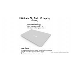 "YEPO 737A6 15.6"" IPS Quad-Core Notebook (128GB/EU)"