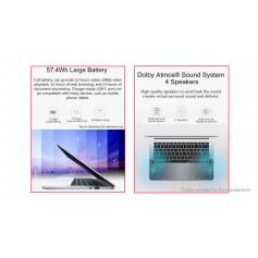 "Authentic Huawei Honor 14"" IPS Quad-core MagicBook (256GB/EU+US)"