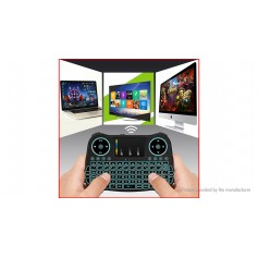 2.4GHz Mini Qwerty Keyboard Air Mouse Combo