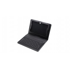 "61-Key 2.4GHz Wireless Bluetooth V2.0 Keyboard w/ PU Leather Case for 7"" BlackBerry Playbook"