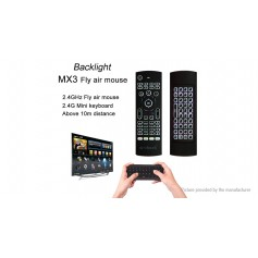 W-SHARK MX3 2.4GHz Wireless Air Mouse + Qwerty Keyboard