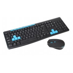 112-Key 2.4G Wireless Keyboard w/ Wireless Mouse
