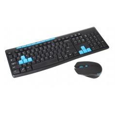 112-Key 2.4G Wireless Keyboard w/ Wireless Mouse