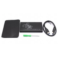 2.5-inch Dual USB 3.0 SATA Hard Drive Enclosure