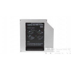 2.5'' / 12.7mm SATA 2nd Hard Drive Caddy Tray